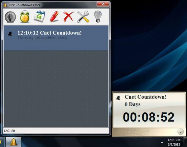 Vorschau Free Countdown Clock - Bild 1