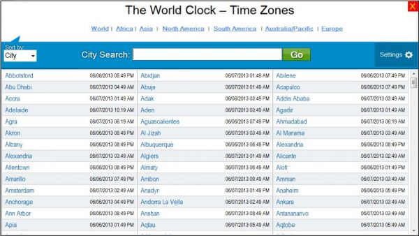 Vorschau The World Clock - Time Zones - Bild 1