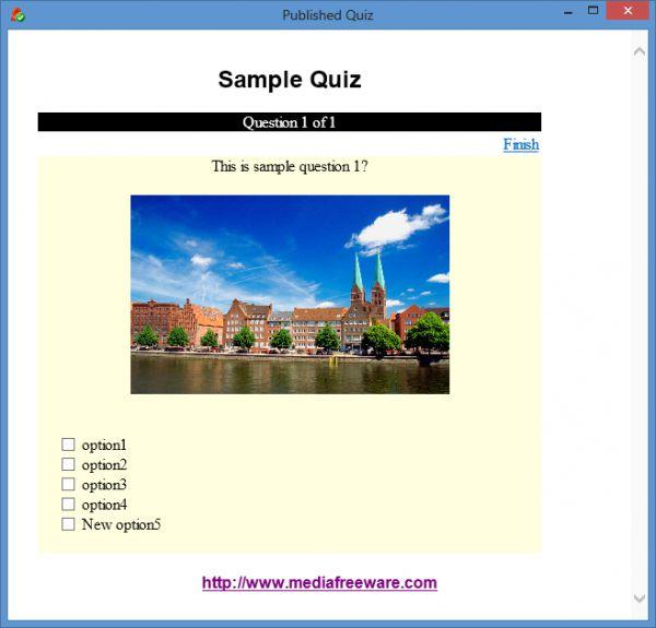 Vorschau Free Quiz Maker - Bild 1