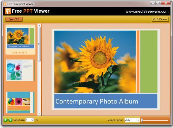 Vorschau Free PPT Viewer - Bild 1