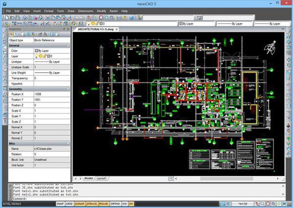 Vorschau nanoCAD - Bild 1