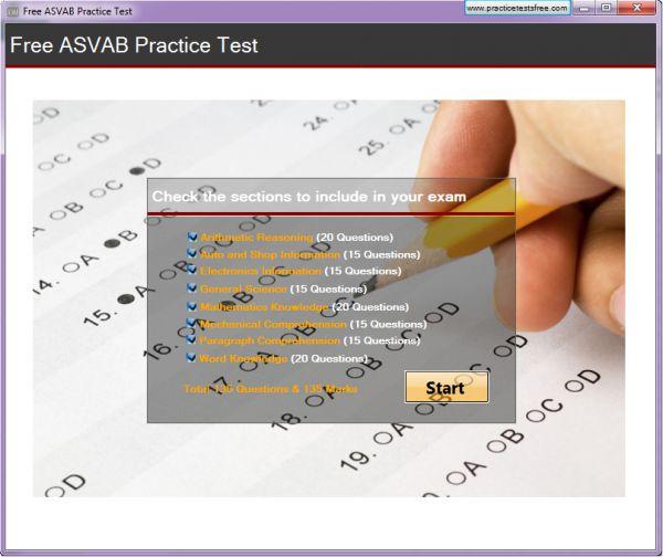 Vorschau Free ASVAB Practice Test - Bild 1