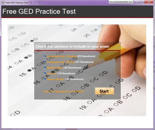 Vorschau Free GED Practice Test - Bild 1