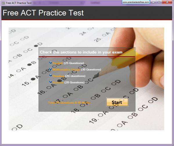 Vorschau Free ACT Practice Test - Bild 1