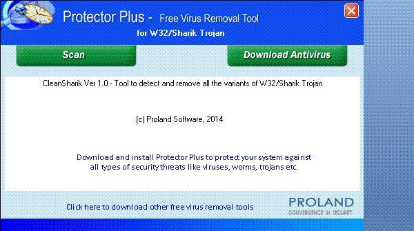 Vorschau W32-Sharik Free Trojan Removal Tool - Bild 1