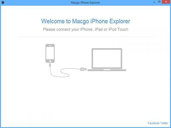 Vorschau Macgo Free iPhone Explorer - Bild 1