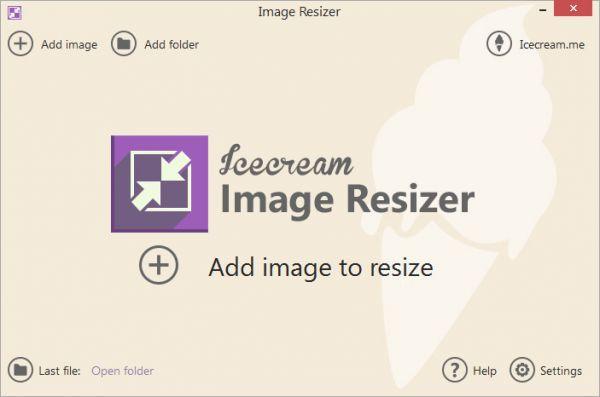 Vorschau Icecream Image Resizer - Bild 1