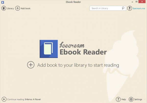 Vorschau Icecream Ebook Reader - Bild 1