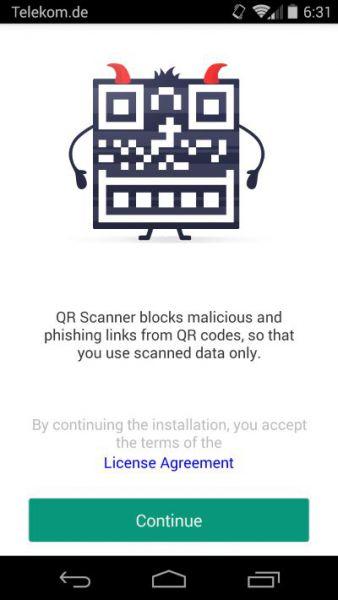 Vorschau Kaspersky QR Scanner for Mac - Bild 1