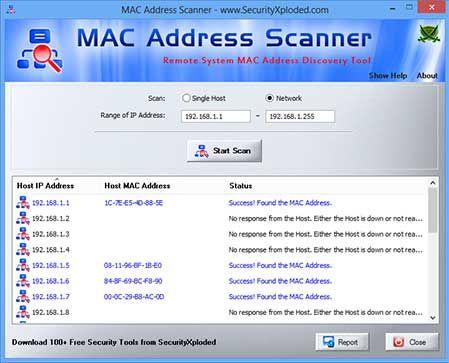 Vorschau MAC Address Scanner - Bild 1