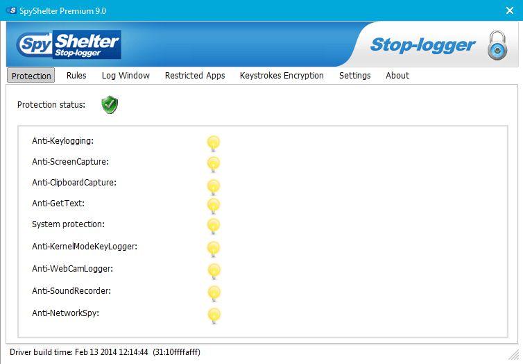 Vorschau SpyShelter Free - Bild 1