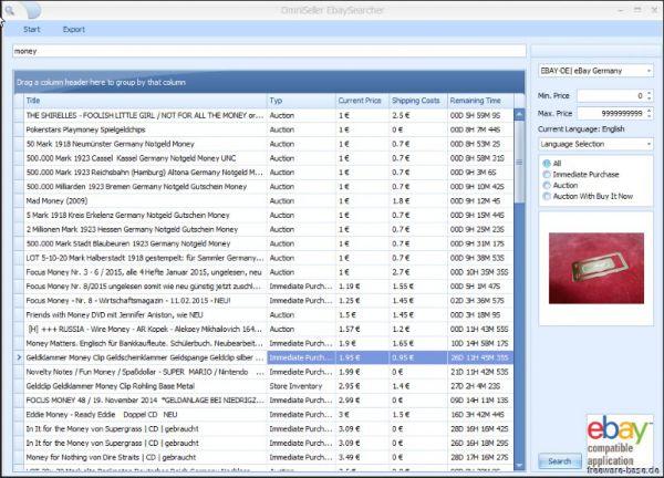 Vorschau OmniSeller EbaySearcher - Bild 1