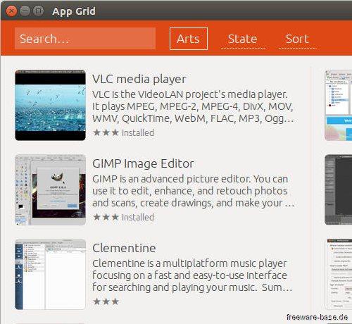Vorschau App Grid for Ubuntu - Bild 1
