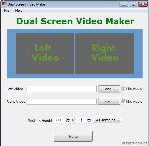 Vorschau Dual Screen Video Maker - Bild 1