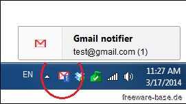Vorschau Notifier for Gmail - Bild 1