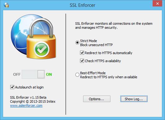 Vorschau SSL Enforcer - Bild 1