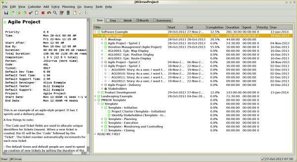 Vorschau JXCirrus Project for Linux - Bild 1