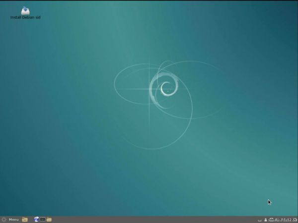 Vorschau Debian Live System CINNAMON - Bild 1