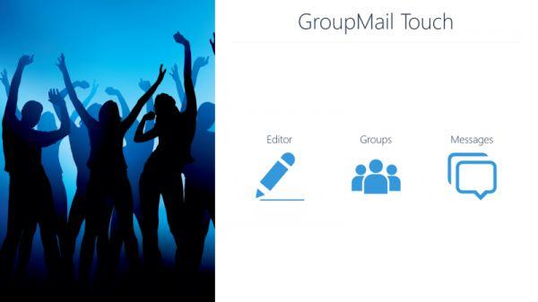 Vorschau GroupMail Touch - Bild 1
