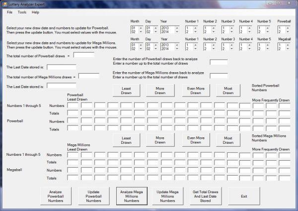 Vorschau Lottery Analyzer Expert - Bild 1
