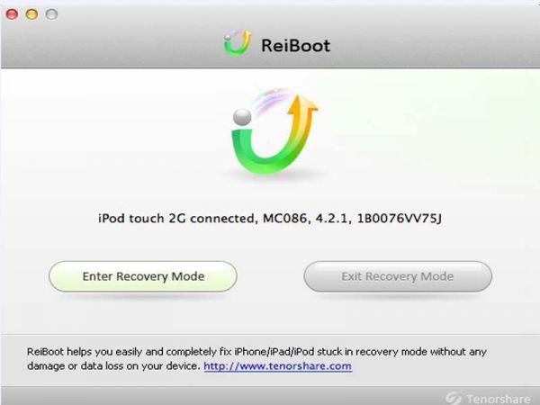 Vorschau Tenorshare ReiBoot for Mac - Bild 1