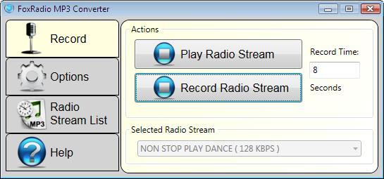 Vorschau FoxRadio MP3 Converter - Bild 1