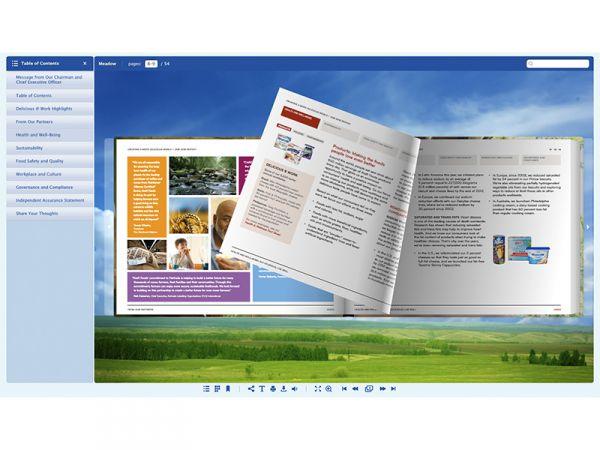 Vorschau Meadow. Skin for FlippingBook Publisher - Bild 1