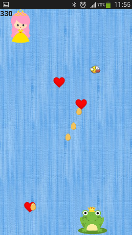 Vorschau Raining Hearts for Android - Bild 1