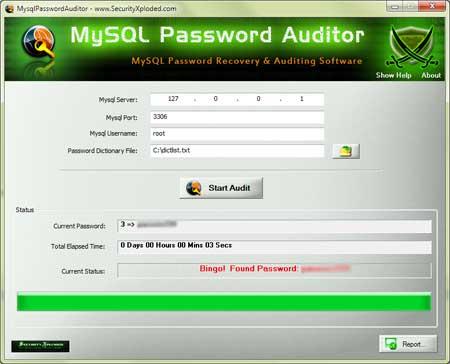 Vorschau Mysql Password Auditor - Bild 1