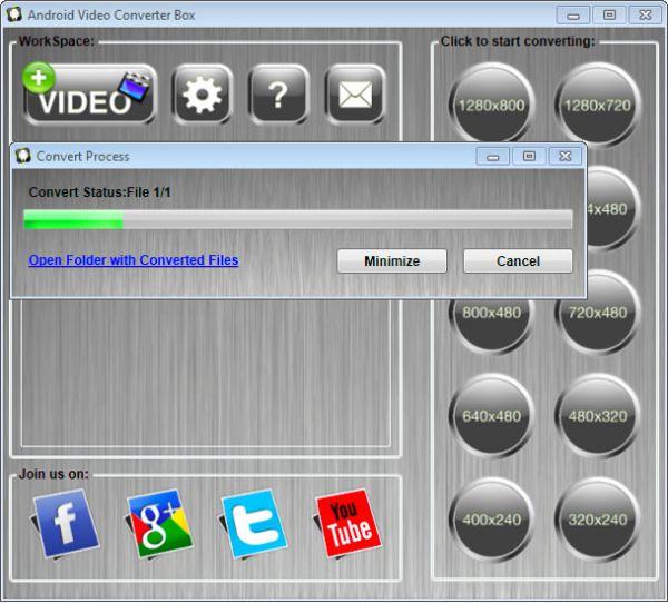 Vorschau Video Converter Box for Android - Bild 1