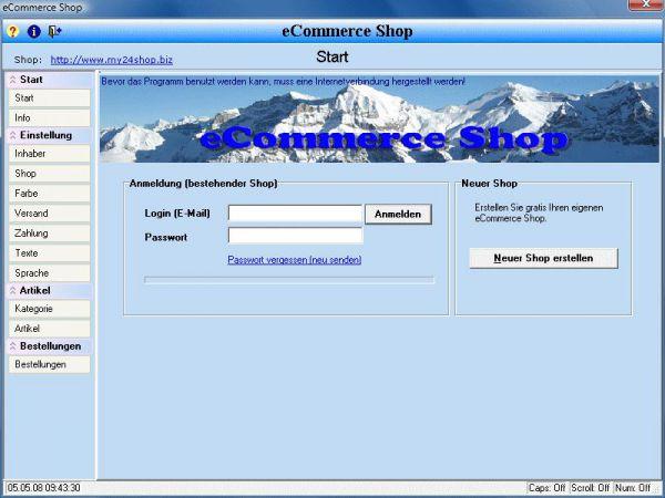 Vorschau eCommerce Shop - Bild 1