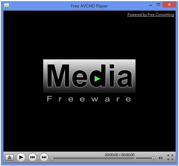Vorschau Free AVCHD Player - Bild 1
