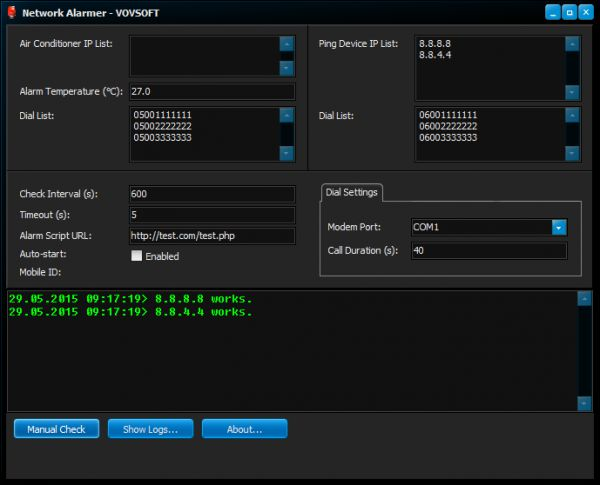 Vorschau Network Alarmer - Bild 1