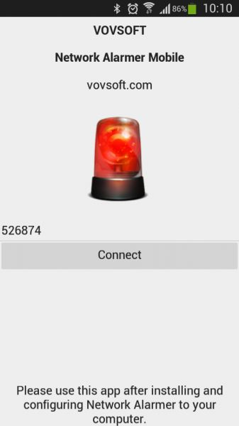 Vorschau Network Alarmer Mobile for Android - Bild 1