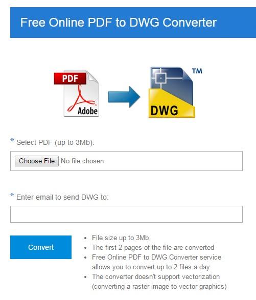 Vorschau Free Online PDF to DWG Converter - Bild 1
