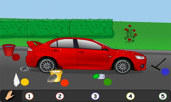 Vorschau Car Wash Sport Car for Android - Bild 1