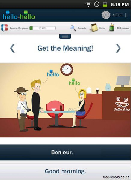 Vorschau Learn French Hello Hello for Android - Bild 1