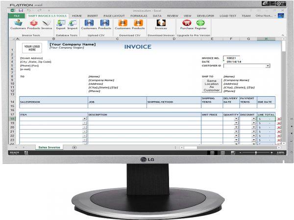 Vorschau Swift Invoice - Bild 1