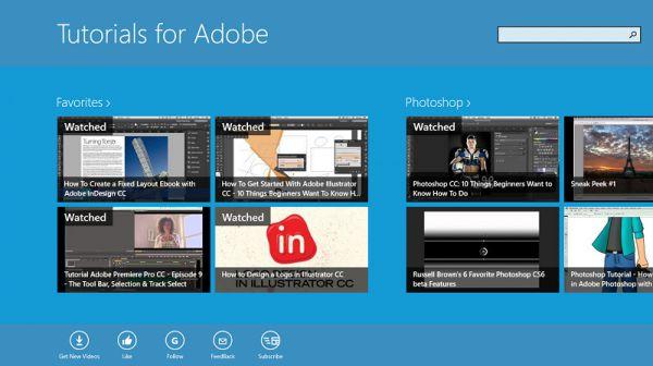 Vorschau Tutorials for Adobe - Bild 1