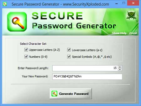 Vorschau Secure Password Generator - Bild 1