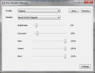 Vorschau Free Monitor Manager - Bild 1