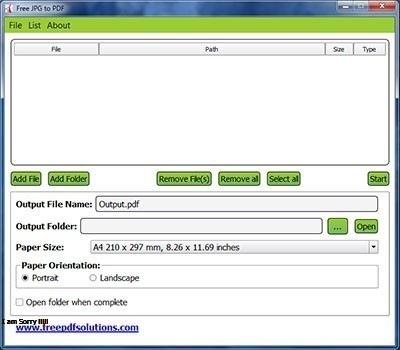 Vorschau FREE JPG to PDF Converter - Bild 1