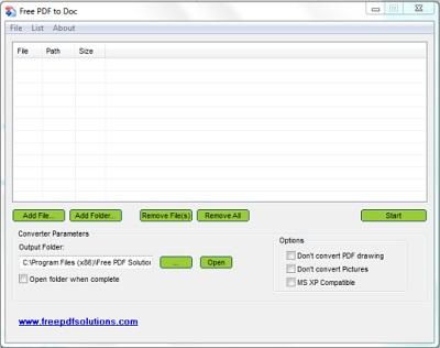 Vorschau Free PDF to DOC Converter - Bild 1