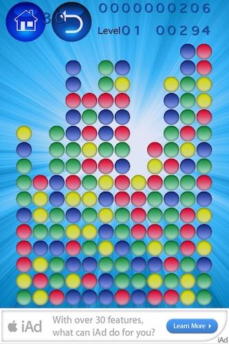 Vorschau Bubbles Popper 2 for iOS - Bild 1