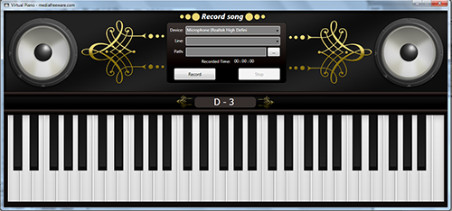 Vorschau Free Virtual Piano - Bild 1