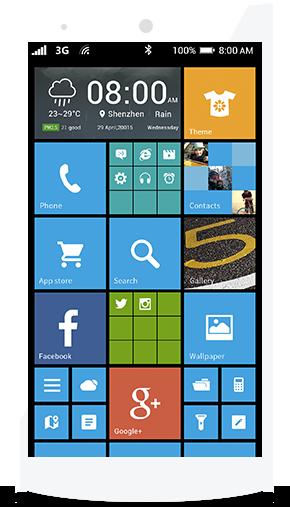 Vorschau Launcher 8 for Android - Bild 1