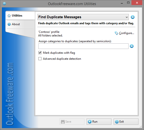 Vorschau Find Duplicate Messages - Bild 1