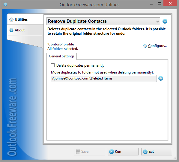 Vorschau Remove Duplicate Contacts - Bild 1