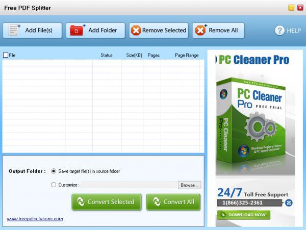Vorschau Free PDF Splitter - Bild 1