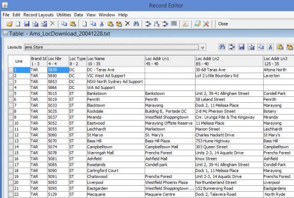 Vorschau RecordEditor_Linux - Bild 1